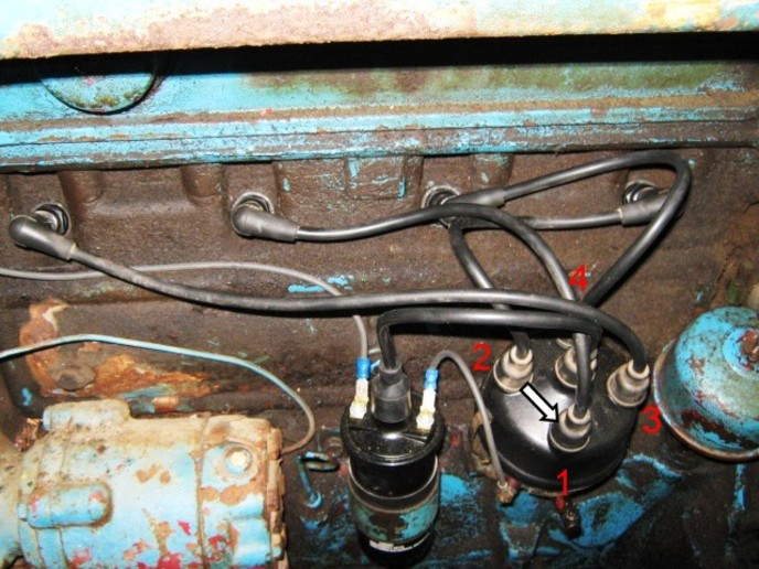 Ford 800 Tractor Distributor Wiring Wiring Diagram