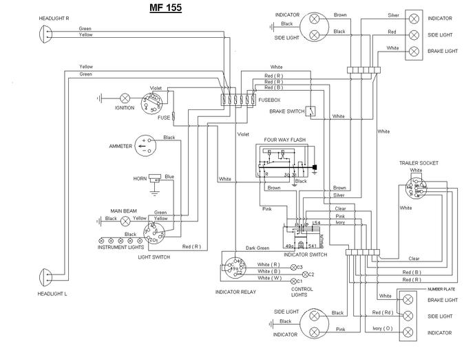 Mf 245 Wiring Diagram - Yewjahoaurbanecologistinfo \u2022