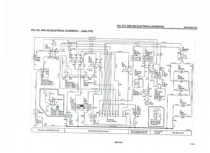 wiring diagram john deere 316