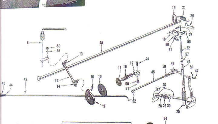 Ford 9n Throttle Linkage Diagram