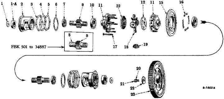 farmall model b parts