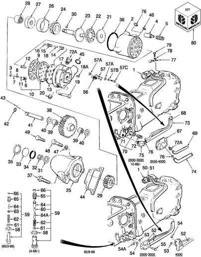 pto clutch ledningsdiagram