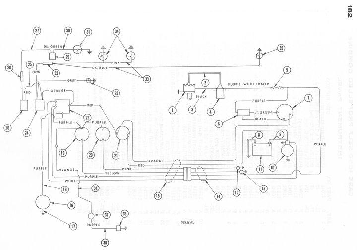 wiring schematics for case ih 1640