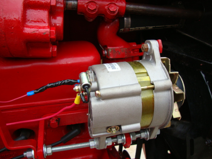 Ford 2n 12 Volt Conversion Wiring Diagram Covert H To An Alternator Yesterday S Tractors