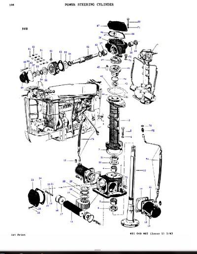 massey ferguson 65 engine diagram