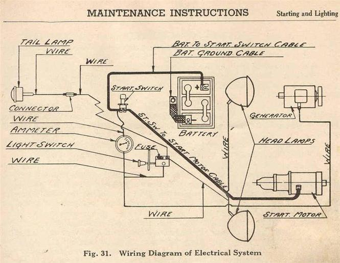 600 Ford Tractor Generator Wiring Diagram Schematic Diagram