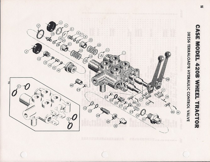 case 420b tractor wiring diagram