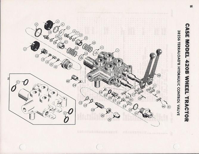 case 420b tractor wiring diagram