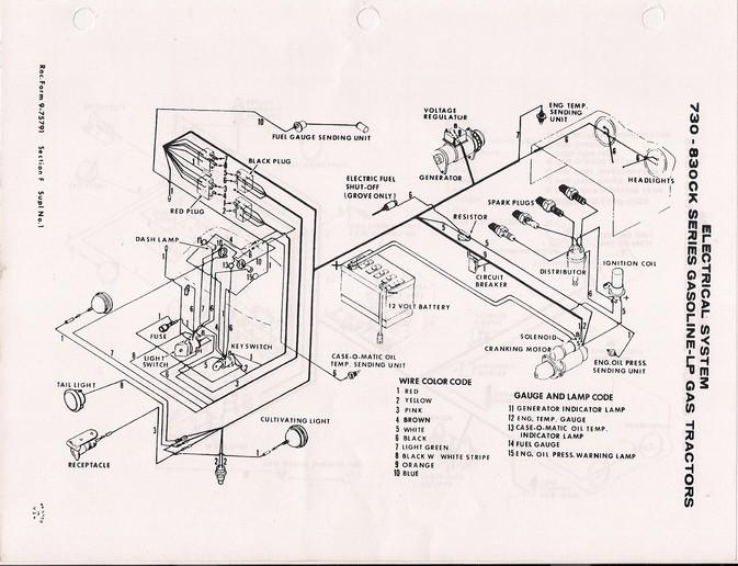 Case 830 Wiring Diagram Wiring Diagram