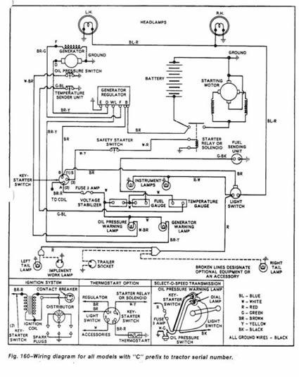 1940 ford ledningsdiagram