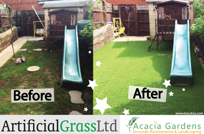 My Lifestyle Elite Artificial Grass Garden Transformation
