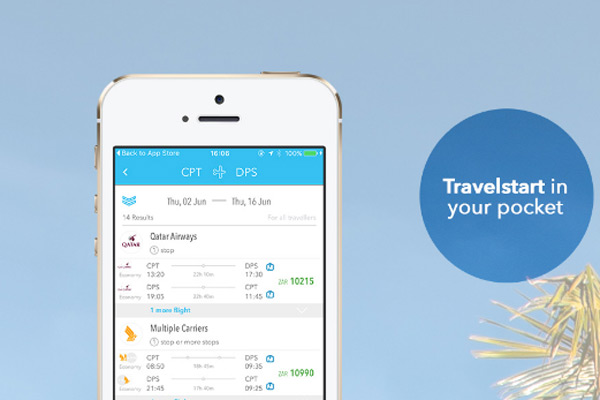 Travelstart launches new mobile flight booking app - booking app