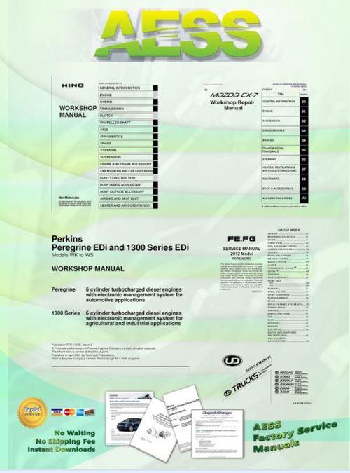 Freightliner CORONADO Service Workshop Manual - Download Manuals a