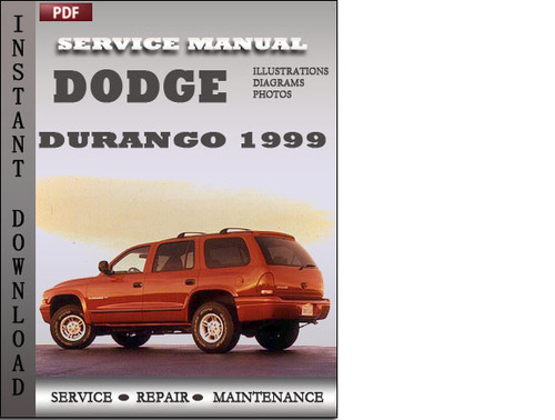 Dodge Durango 1999 Factory Service Repair Manual Download - Downloa