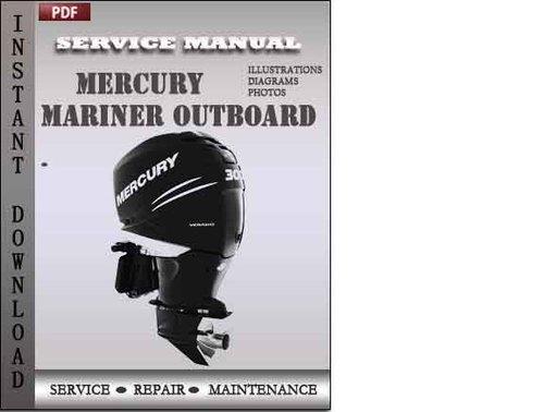 Mercury Mariner Outboard 115 Hp 4-stroke Factory Service Repair Manual  Download