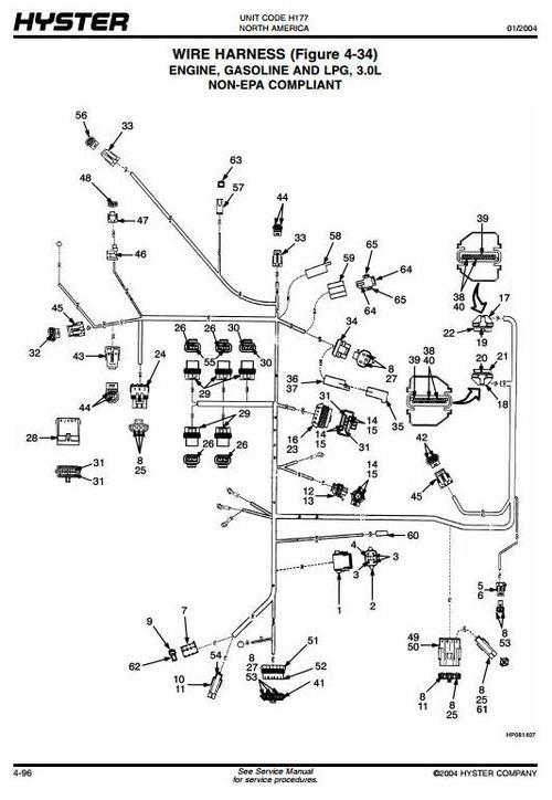 hyster 50 wiring schematic