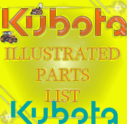 KUBOTA L3300 DT TRACTOR PARTS MANUAL ILLUSTRATED LIST IPL - Downloa