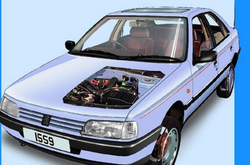 1988-1997 Peugeot 405 Workshop Repair manual DOWNLOAD - Download Ma
