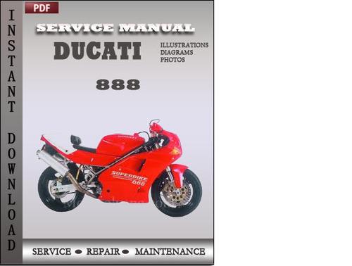 ducati 996 1999 2003 workshop manual