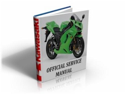 kawasaki ninja zx6rr zx 6 rr 2005 2006 workshop service manual repair guide download