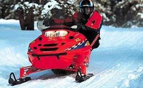 Polaris Snowmobile 2001-2 Edge Pro X XC SP XCR Repair Manual - Down