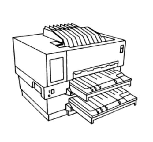 comptia a laser printer diagram