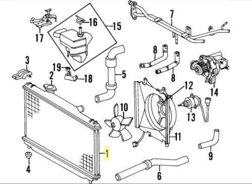 2007 mini cooper engine parts diagram
