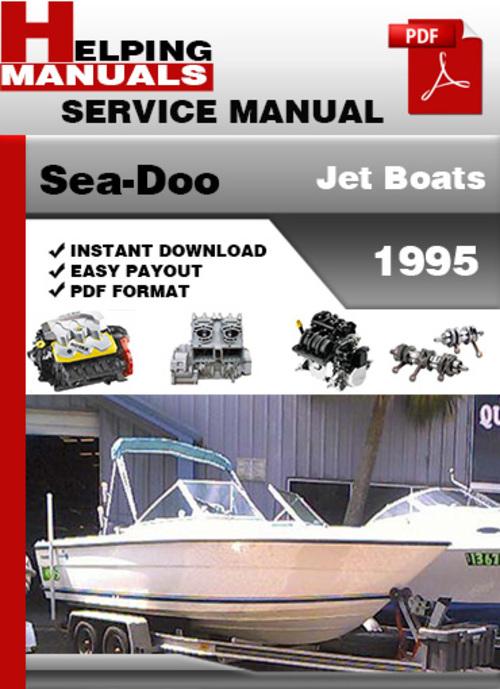 sea doo boat manuals