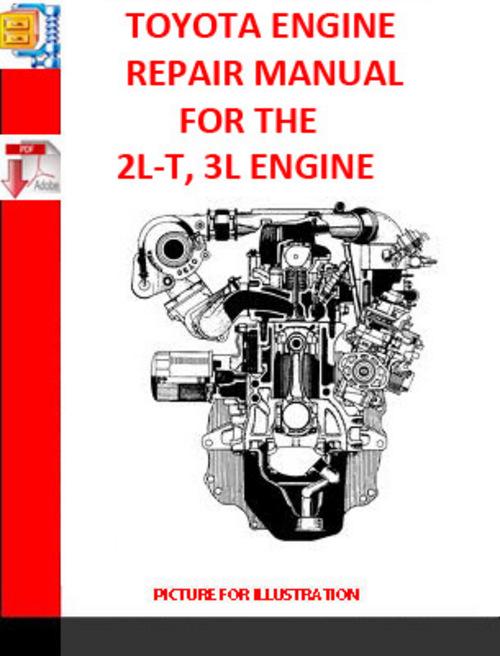 TOYOTA 2L-T, 3L ENGINE REPAIR MANUAL SUPPLEMENT 1990 - Download Man