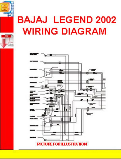 Bajaj Motorcycle Wiring Diagram Schematic Diagram