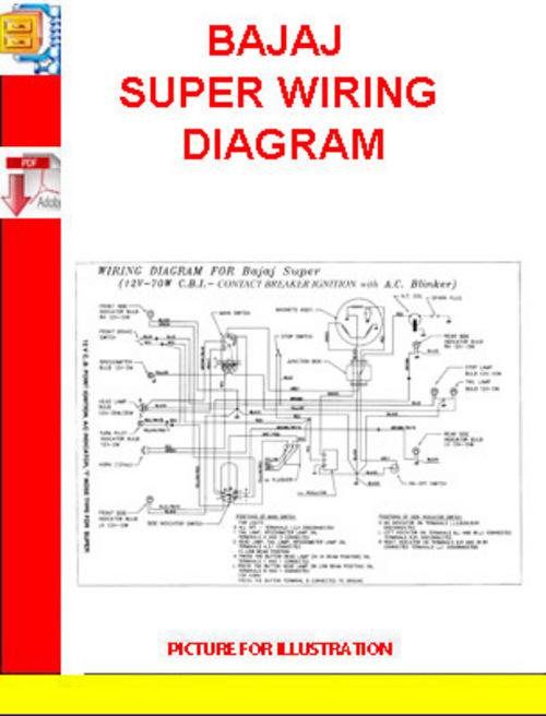 Bajaj Wiring Diagram - Wiring Diagram Write