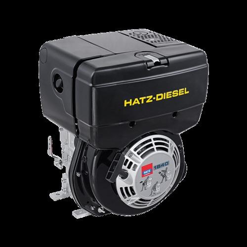 Hatz 1B40 workshop manual, instruction manual and parts book - Down