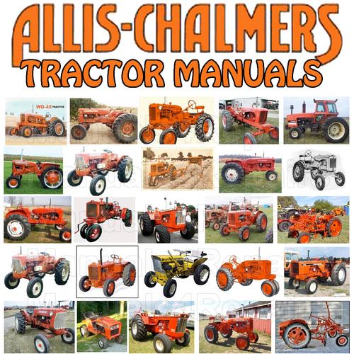 Allis CHALMERS B12 B-12 AC Tractor  Attachments SERVICE Repair MAN