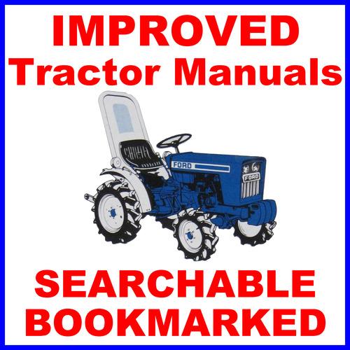 Ford 1900  1910 Tractor Technical Repair SHOP Service Repair MANUA