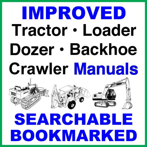 Case 480B Loader Backhoe Operators Owner Instruction Manual - IMPRO