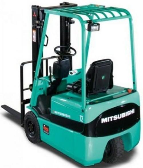 Mitsubishi FB10KRT FB12KRT FB15KRT Forklift Trucks Chassis, Mast and