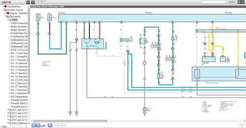 Toyota Fortuner 2015-2017 EWD Wiring diagrams - Download Manuals a