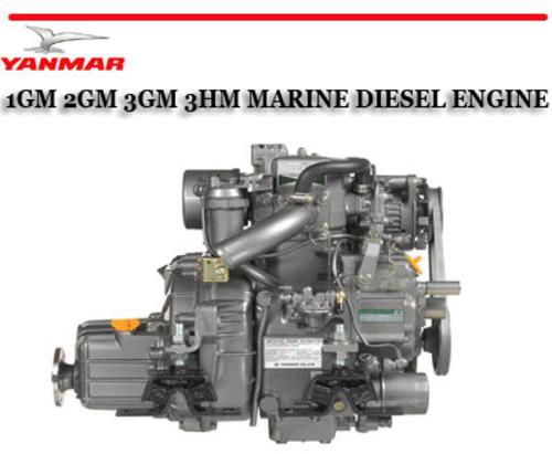 YANMAR 1GM 2GM 3GM 3HM MARINE DIESEL ENGINE REPAIR MANUAL - Downloa