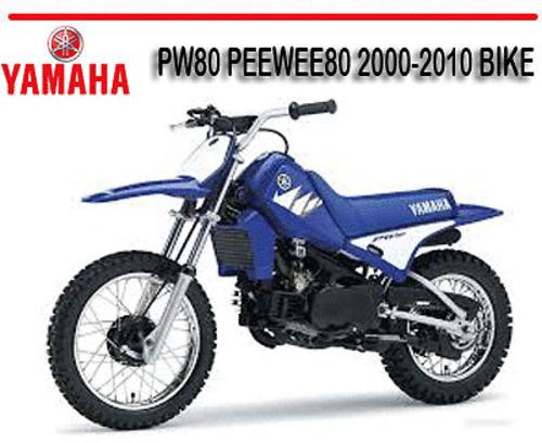 YAMAHA PW80 PEEWEE80 2000-2010 BIKE FACTORY REPAIR MANUAL - Downloa