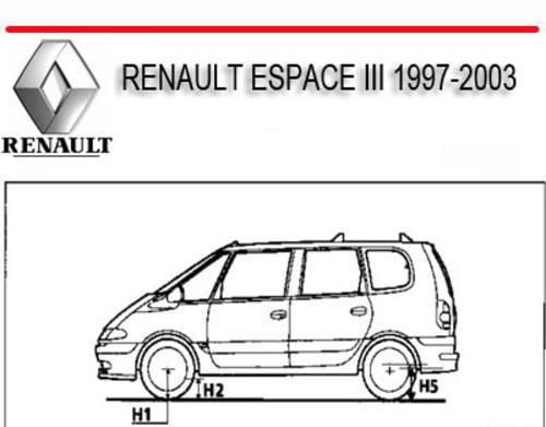 renault espace iii wiring diagram