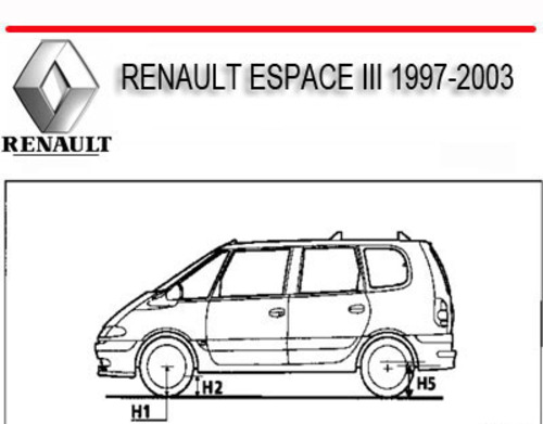renault espace 3 user wiring diagram