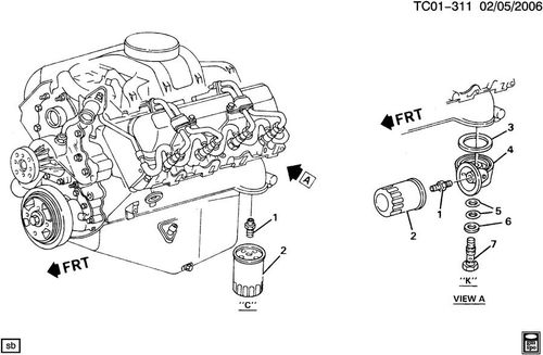 gm 6.2 diesel fuel filter housing