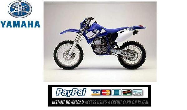 Download Service  repair manual Yamaha WR400F / WR426F 2000 - Down