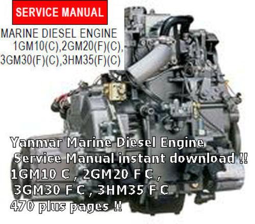 YANMAR 1GM10 C SERVICE MANUAL DOWNLOAD - Download Manuals  Tec