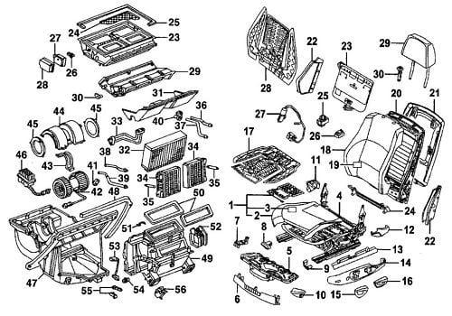 2006 audi a6 Diagrama del motor