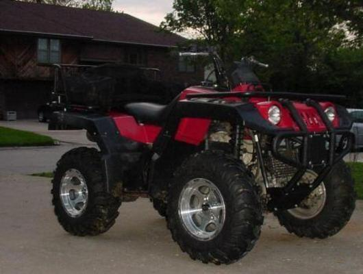 Yamaha Atv Yfm 600 4x4 Grizzly Service Repair Manual 1998-1999 Down