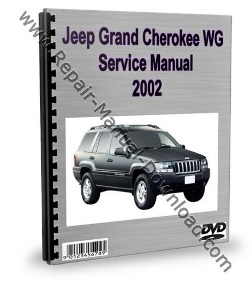 jeep grand cherokee wg 2002 service repair manual