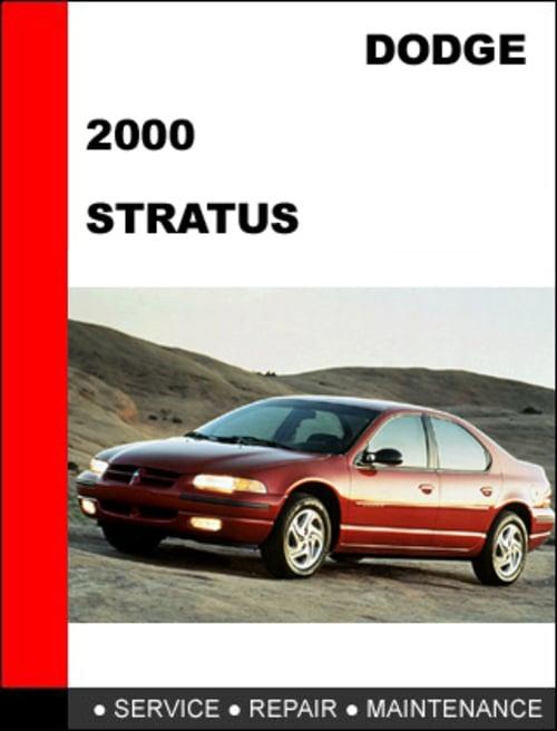 dodge stratus 2000 workshop service repair manual