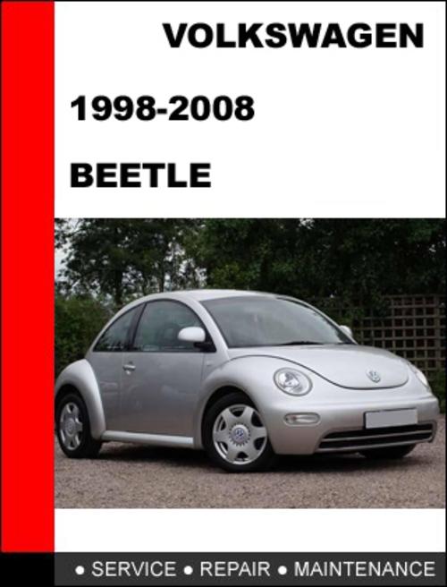 volkswagen new beetle 1998 2008 service repair manual dl