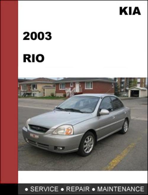 2004 kia rio owners manual free download